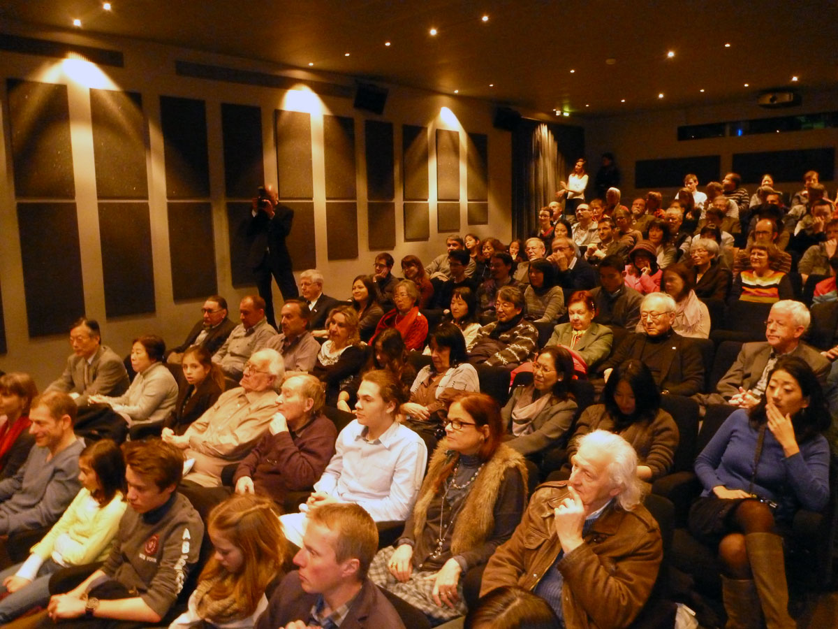 The audience at the premiere screening in Bern